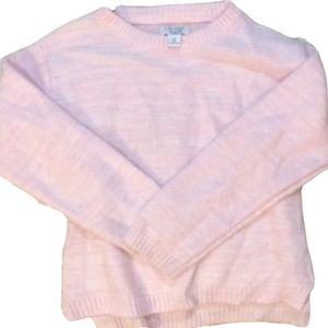 Childrens Place Light Pink Sweater Size Small 5/6